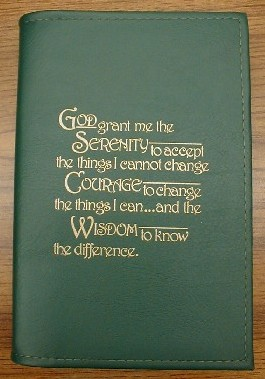 12 & 12 Book Cover with Serenity Prayer