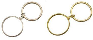 d54e7956c77 Gold Filled or Sterling Silver Bezel Key Ring