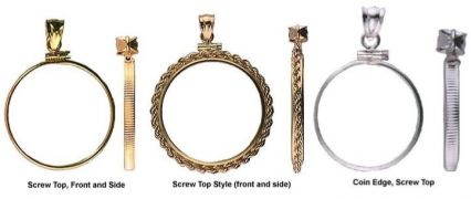 Recovery coin holder bezel pendants with bail recovery jewelry all recovery coin holder bezel pendants with bail aloadofball Gallery