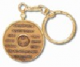 Screw Top keychain Chip Holder ( Gold or Silver Tone)